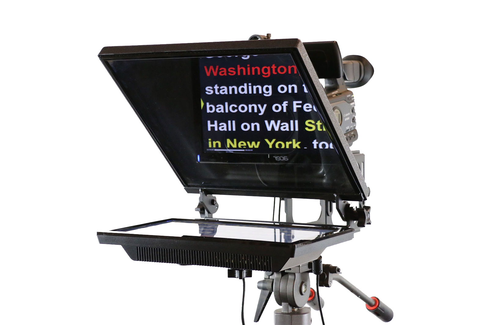 Corpus Christi, on-camera mount teleprompter, operator, rental, service