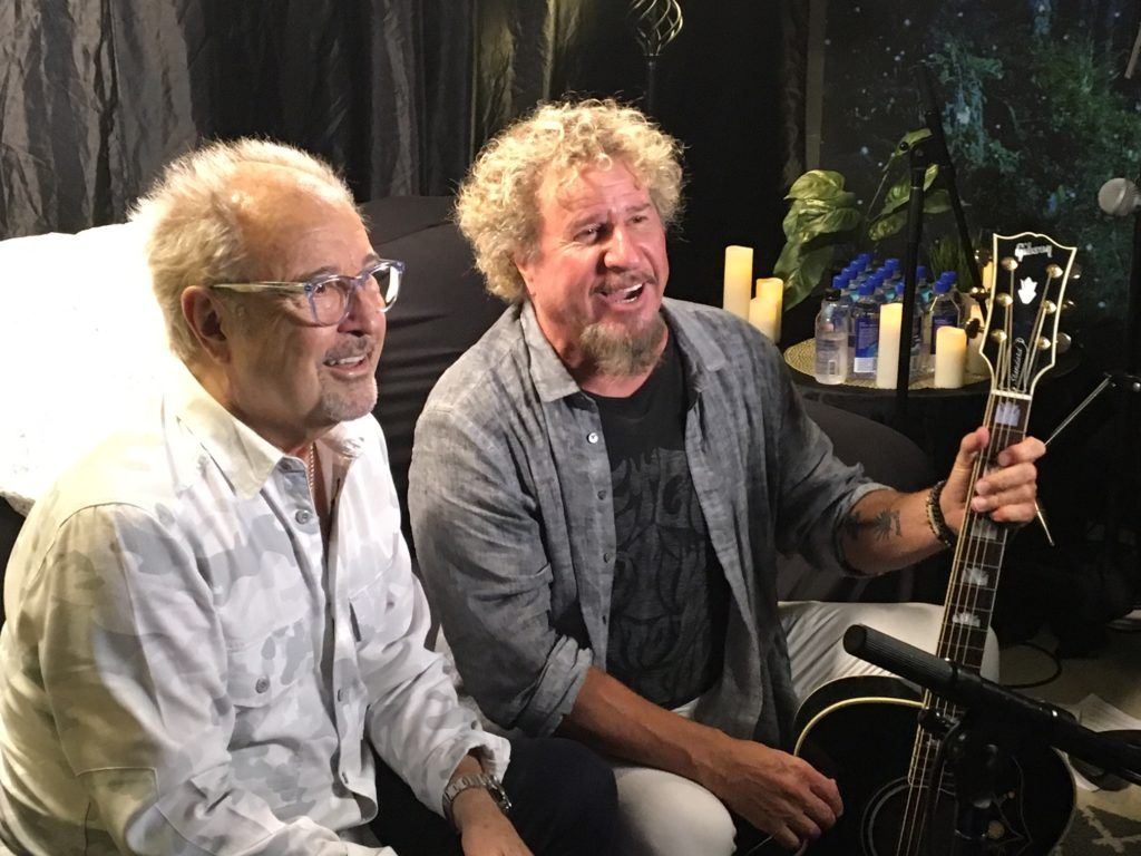 Sammy Hagar Mick Jones