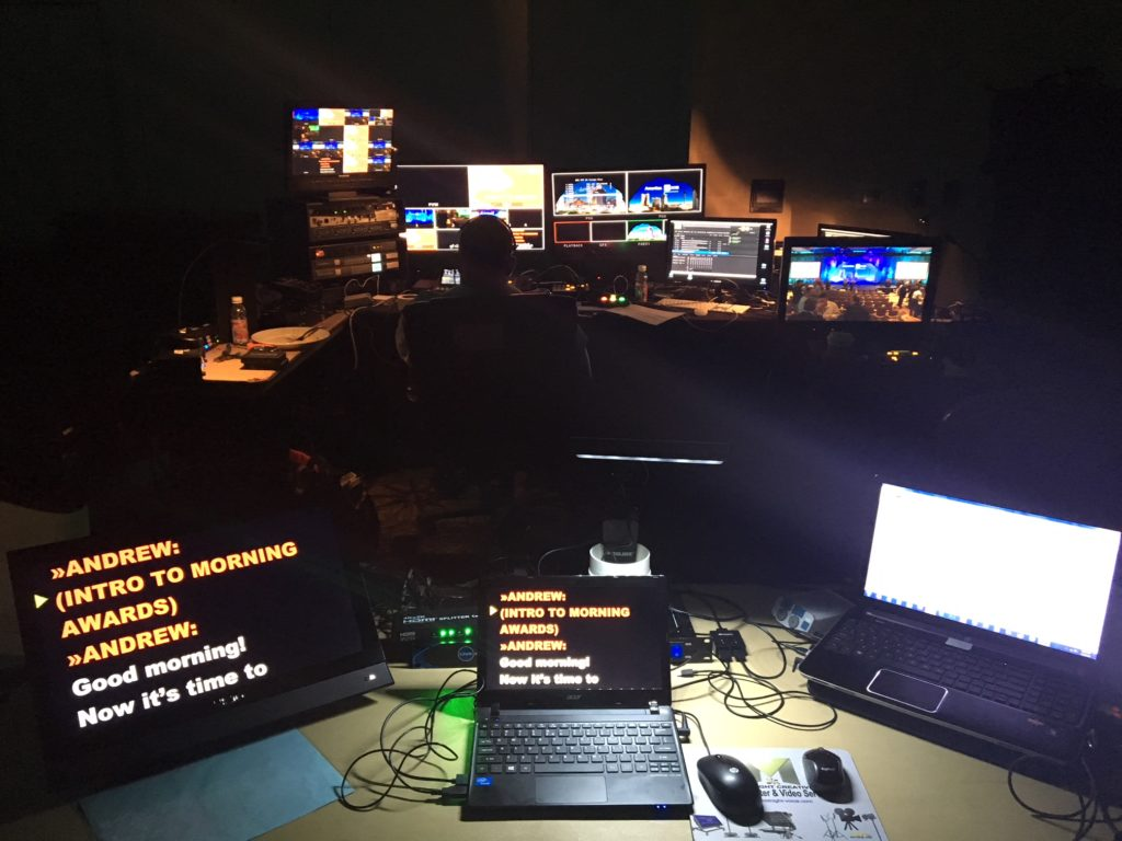 presidential Teleprompter, Las Vegas