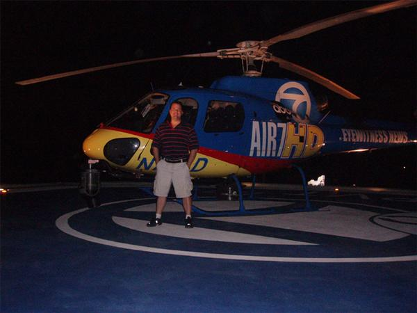 KABC TV , Air 7, AS350B2, news Helicopter