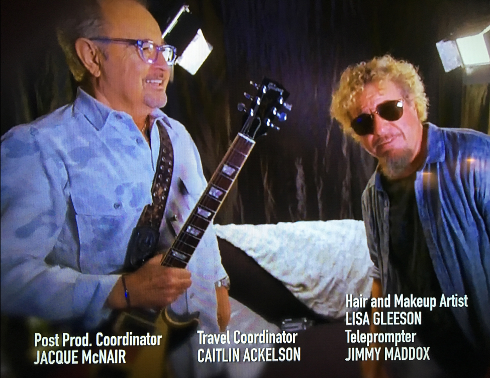 Sammy Hagar, Mick Jones, Foreigner, Axs TV, Rock N Road Trip